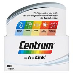 CENTRUM A-Zink+FloraGlo Lutein Caplette 180 Stück - Vorderseite