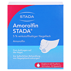 Amorolfin STADA 5% 5 Milliliter N2 - Vorderseite