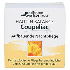 medipharma Haut in Balance Coupeliac Aufbauende Nachtpflege 50 Milliliter - Vorderseite