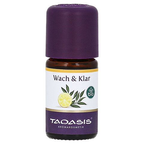 WACH & KLAR Bio ätherisches Öl 5 Milliliter