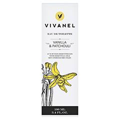 VIVANEL Eau de Toilette Vanille & Patchouli 100 Milliliter - Vorderseite