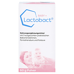 LACTOBACT Baby Pulver 60 Gramm - Vorderseite