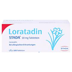 Loratadin STADA 10mg 100 Stück N3 - Vorderseite