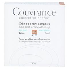 Avène Couvrance Kompakt Creme-Make-up mattierend sand 10 Gramm - Vorderseite