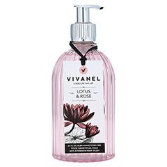 VIVANEL Cream Soap Lotus & Rose 350 Milliliter - Vorderseite
