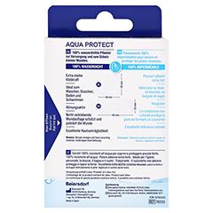 HANSAPLAST Aqua Protect Pflasterstrips 20 Stück - Rückseite