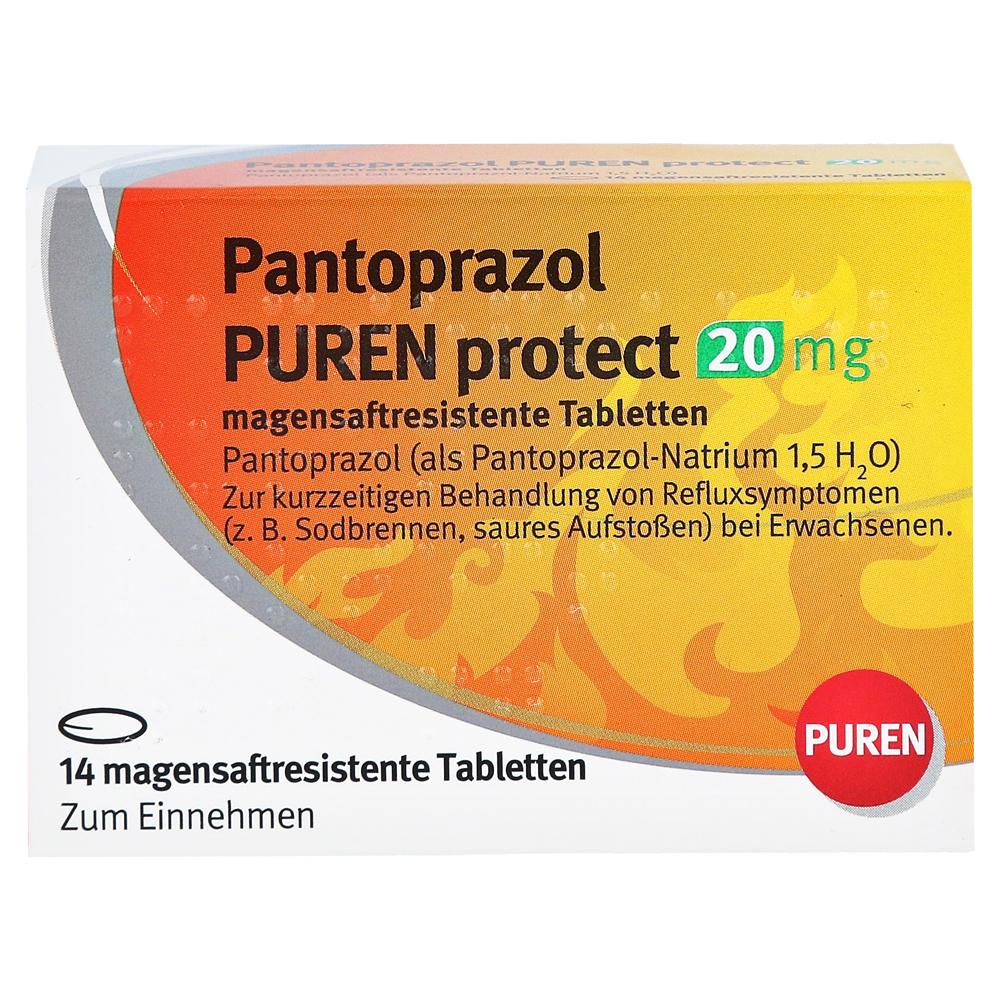 pantoprazol puren protect 20mg 14 st ck online bestellen. Black Bedroom Furniture Sets. Home Design Ideas