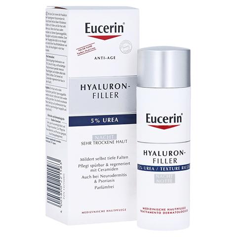EUCERIN Anti-Age HYALURON-FILLER UREA Nachtcreme 50 Milliliter