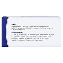 sikapur Kieselsäure Softgel-Kapseln 90 Stück - Oberseite