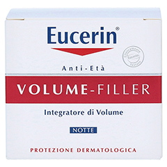 EUCERIN Anti-Age VOLUME-FILLER Nachtpflege Creme 50 Milliliter - Rückseite