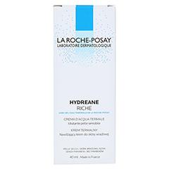 La Roche-Posay Hydreane Riche Reichhaltige Gesichtspflege 40 Milliliter - Rückseite