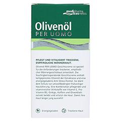 Olivenöl Per Uomo Gesichtscreme 50 Milliliter - Rückseite