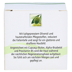 Olivenöl Olifting Anti-Faltenpflege Nachtcreme 50 Milliliter - Rückseite
