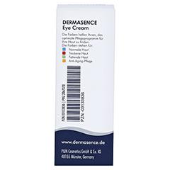 DERMASENCE Eye Cream 15 Milliliter - Rückseite