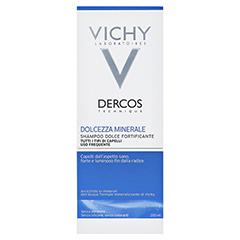 Vichy Dercos Mineralshampoo 200 Milliliter - Rückseite
