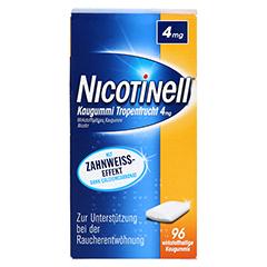 Nicotinell 4mg Tropenfrucht 96 Stück - Rückseite