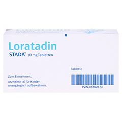 Loratadin STADA 10mg 100 Stück N3 - Unterseite