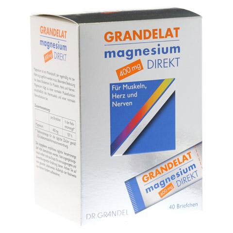 MAGNESIUM DIREKT 400 mg Grandelat Pulver 40 St�ck