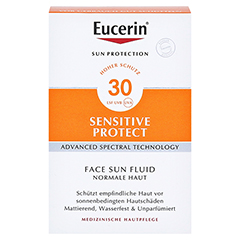 EUCERIN Sun Fluid LSF 30 50 Milliliter - Vorderseite