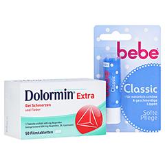 Dolormin extra + gratis bebe Lipstick classic 50 Stück N3