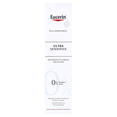 EUCERIN SEH UltraSensitive Reinigungslotion 100 Milliliter - Rückseite