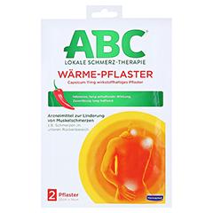 ABC Wärme-Pflaster Capsicum 11mg Hansaplast med 2 Stück