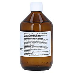 WASSERSTOFFPEROXID Lösung 3% 500 Gramm N3 - Rückseite