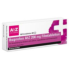 Ibuprofen AbZ 200mg 10 Stück N1