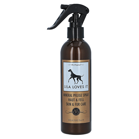 MINERAL PFLEGE Spray Haut & Fell Lila Loves it vet 250 Milliliter