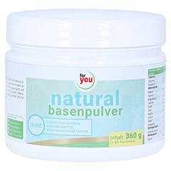 FOR YOU natural basenpulver 360 Gramm