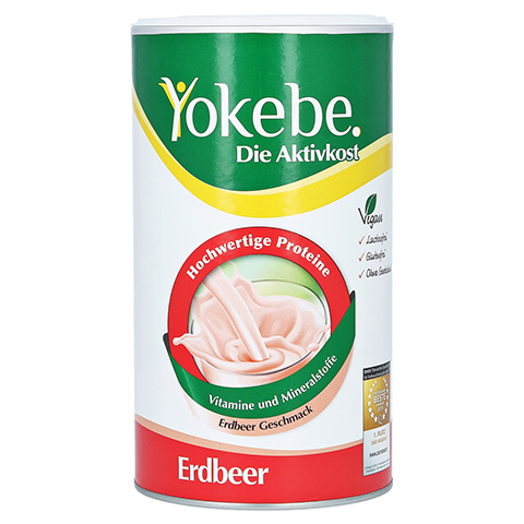 YOKEBE Erdbeer NF Pulver 500 Gramm
