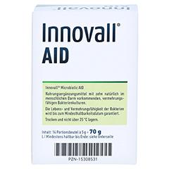 INNOVALL Microbiotic AID Pulver 14x5 Gramm - Rückseite