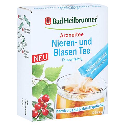BAD HEILBRUNNER Nieren- und Blasen Tee tassenfert. 10x1.2 Gramm