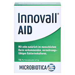 INNOVALL Microbiotic AID Pulver 14x5 Gramm - Vorderseite