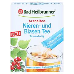 BAD HEILBRUNNER Nieren- und Blasen Tee tassenfert. 10x1.2 Gramm - Vorderseite
