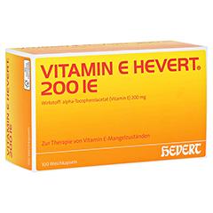 VITAMIN E HEVERT 200 I.E. Weichkapseln 100 Stück N3