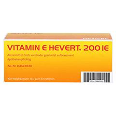 VITAMIN E HEVERT 200 I.E. Weichkapseln 100 Stück N3 - Unterseite