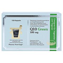 Q10 GREEN 100 mg Kapseln 150 Stück - Vorderseite