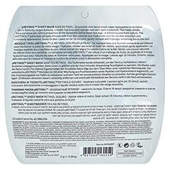 AHAVA Safe pRetinol Sheet Mask Beutel 1 Stück - Rückseite