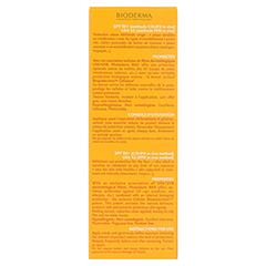 BIODERMA Photoderm Max Creme SPF 50+ ungetönt + gratis BIODERMA Sensibio Gel 45 ml 40 Milliliter - Rückseite
