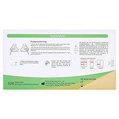 HOTGEN COVID-19 Laien Nasal Rapid Test 1 Stück - Rückseite