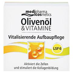 OLIVENÖL & Vitamine vitalisierende Aufbaupfl.m.LSF 50 Milliliter - Vorderseite