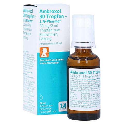 Ambroxol 30 Tropfen-1A Pharma 50 Milliliter N2