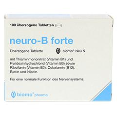 NEURO B forte biomo Neu überzogene Tabletten 100 Stück - Vorderseite