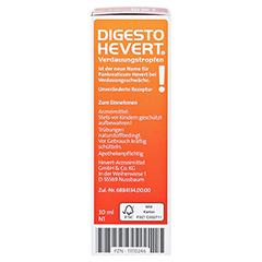 DIGESTO Hevert Verdauungstropfen 30 Milliliter N1 - Linke Seite