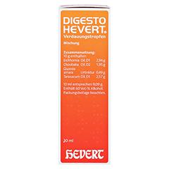 DIGESTO Hevert Verdauungstropfen 30 Milliliter N1 - Rechte Seite