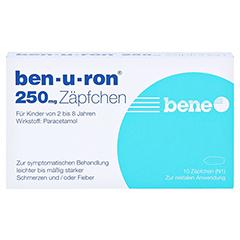 Ben-u-ron 250mg 10 Stück N1 - Vorderseite
