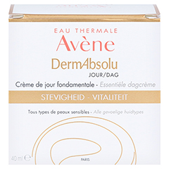 Avène DermAbsolu Tag Stärkende Tagescreme 40 Milliliter - Rückseite