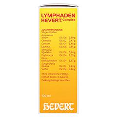 LYMPHADEN HEVERT Complex Tropfen 100 Milliliter N2 - Rechte Seite