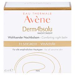 Avène DermAbsolu Nacht Wohltuender Nachtbalsam + gratis Avène Hygiene-Set 40 Milliliter - Vorderseite